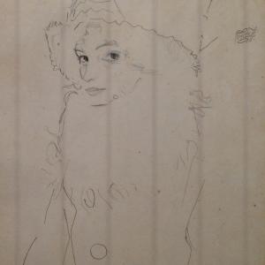 Gerti Schiele, 1911