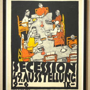 Poster of the 49th Exhibition of the Secession, 1918