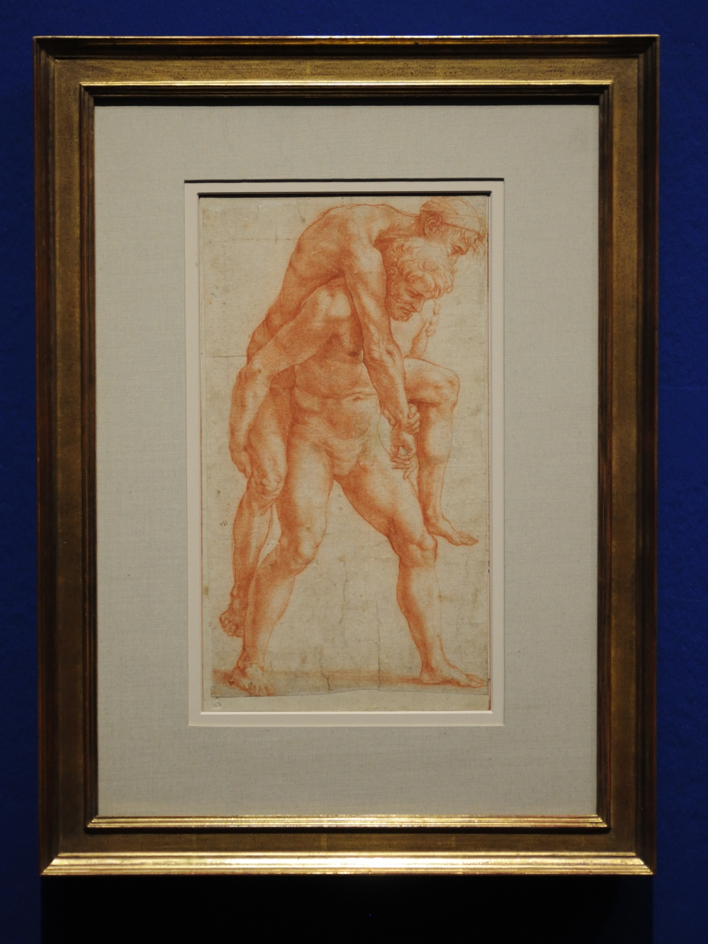 Nude studies for the Fire in the Borgo