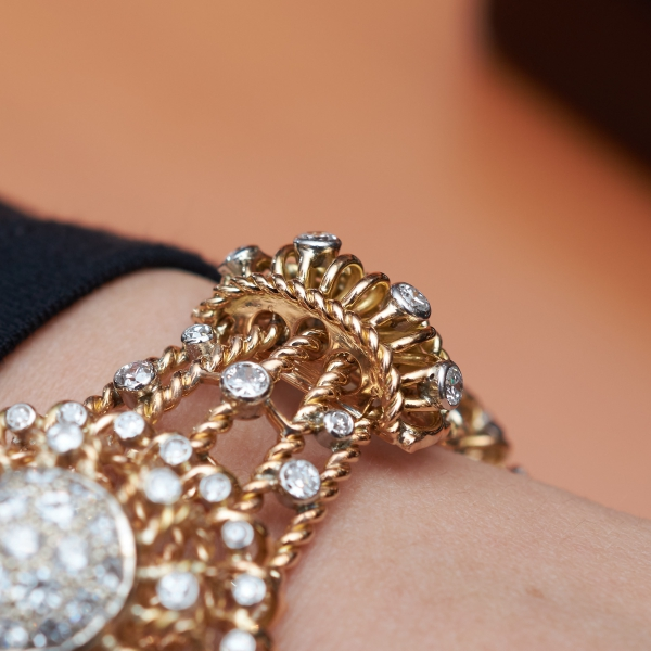 Lot 744 bracelet, Monture Boucheron