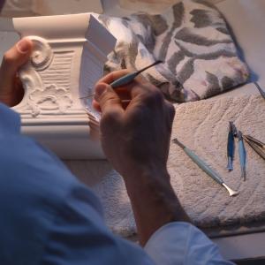 Carving fine details