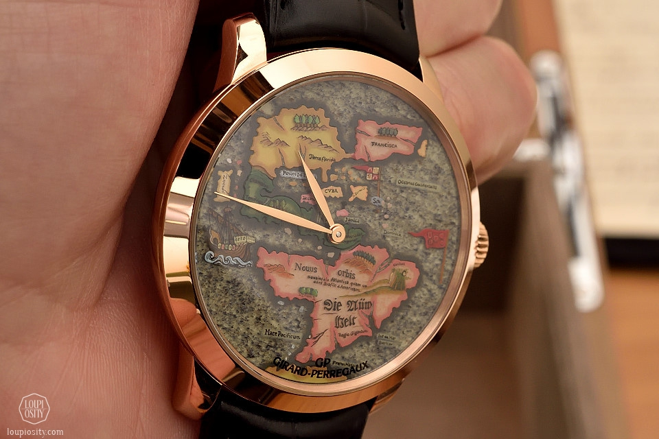 Girard-Perregaux The New World timepiece