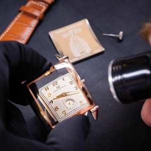 Dial of the Vintage 1945 Small Seconds 70th anniversary edition