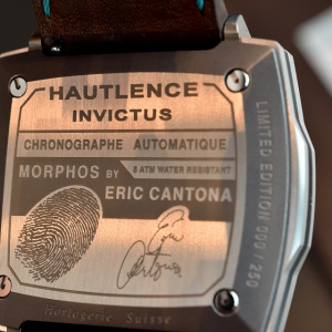 INVICTUS Morphos limited edition by Eric Cantona