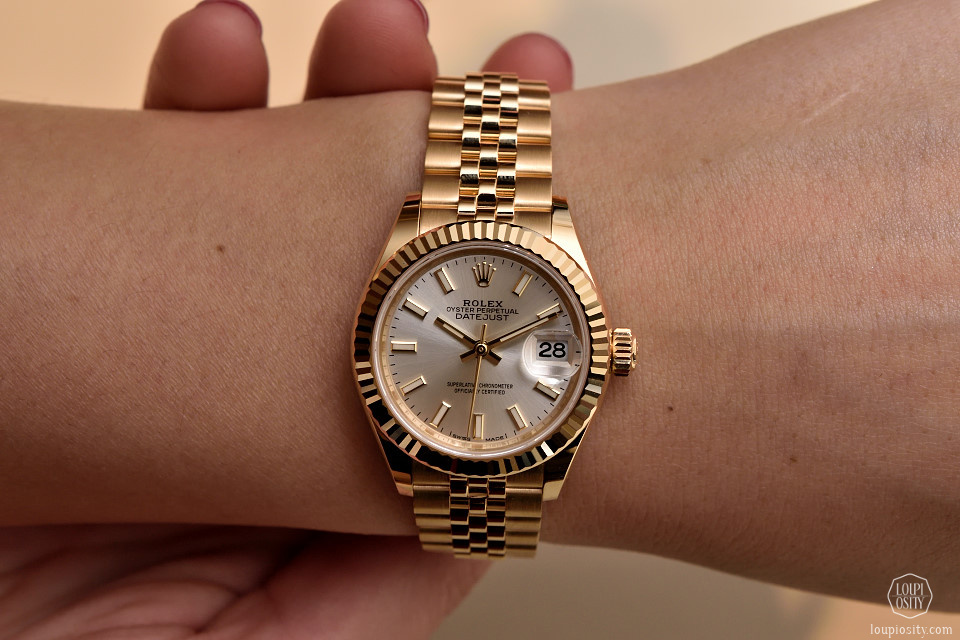 Rolex Datejust Pink Diamonds