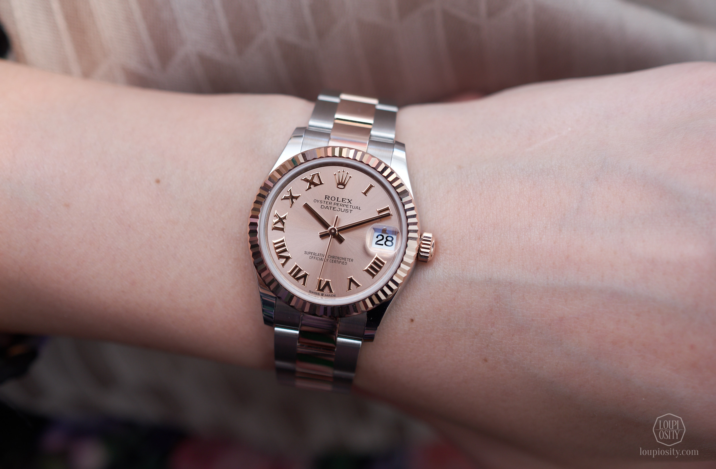 Rolex Datejust 31 - Rolesor Oystersteel and Everose gold