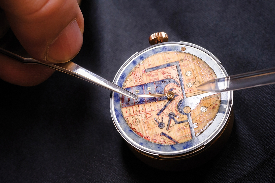 Creation of the The Pearl of Wonders timepiece