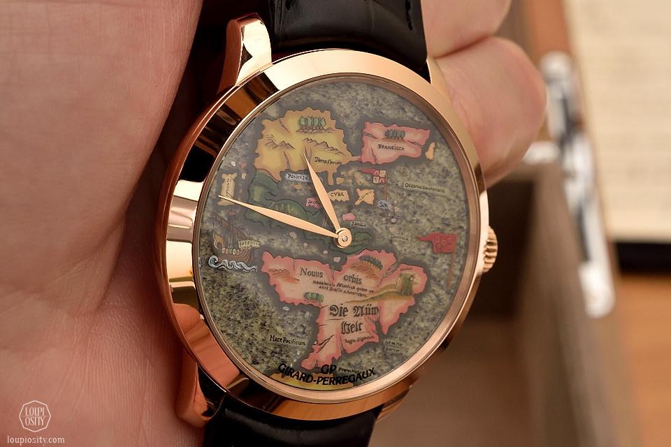 Girard-Perregaux The New World timepiece