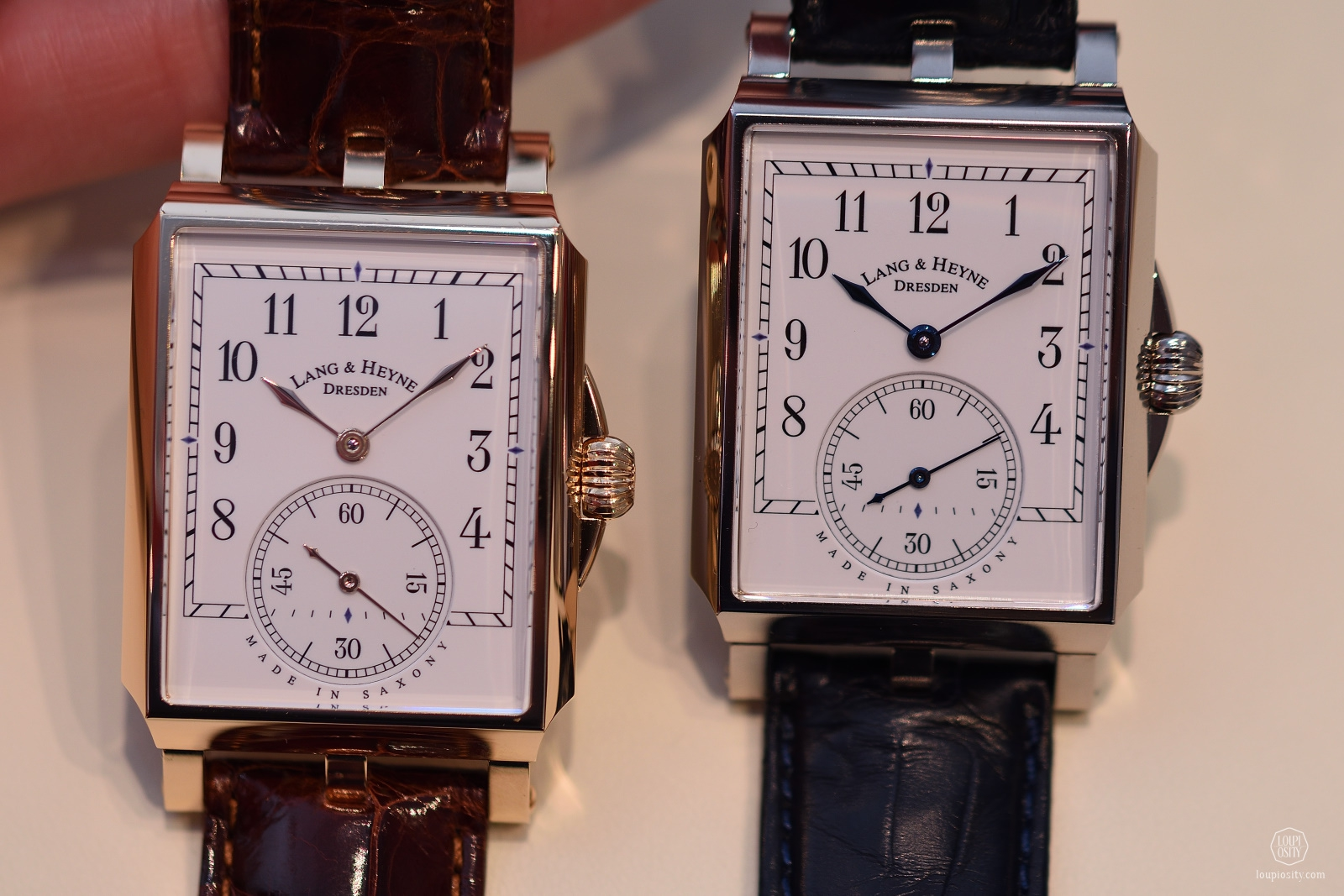 Lang & Heyne Augustus, 18ct rose gold and white gold editions