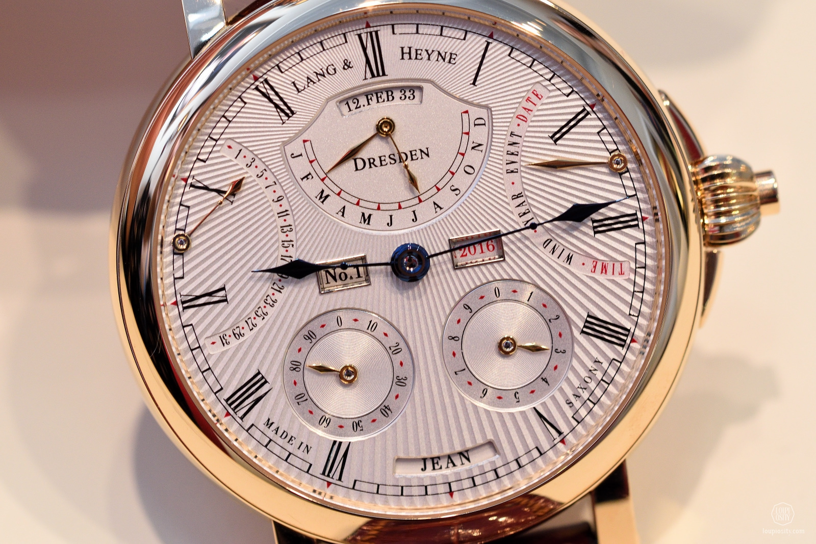 Lang & Heyne Augustus, 18ct rose gold edition