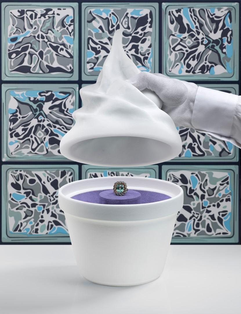 Suzanne Syz's Frozen Yogurt by Alex Israel