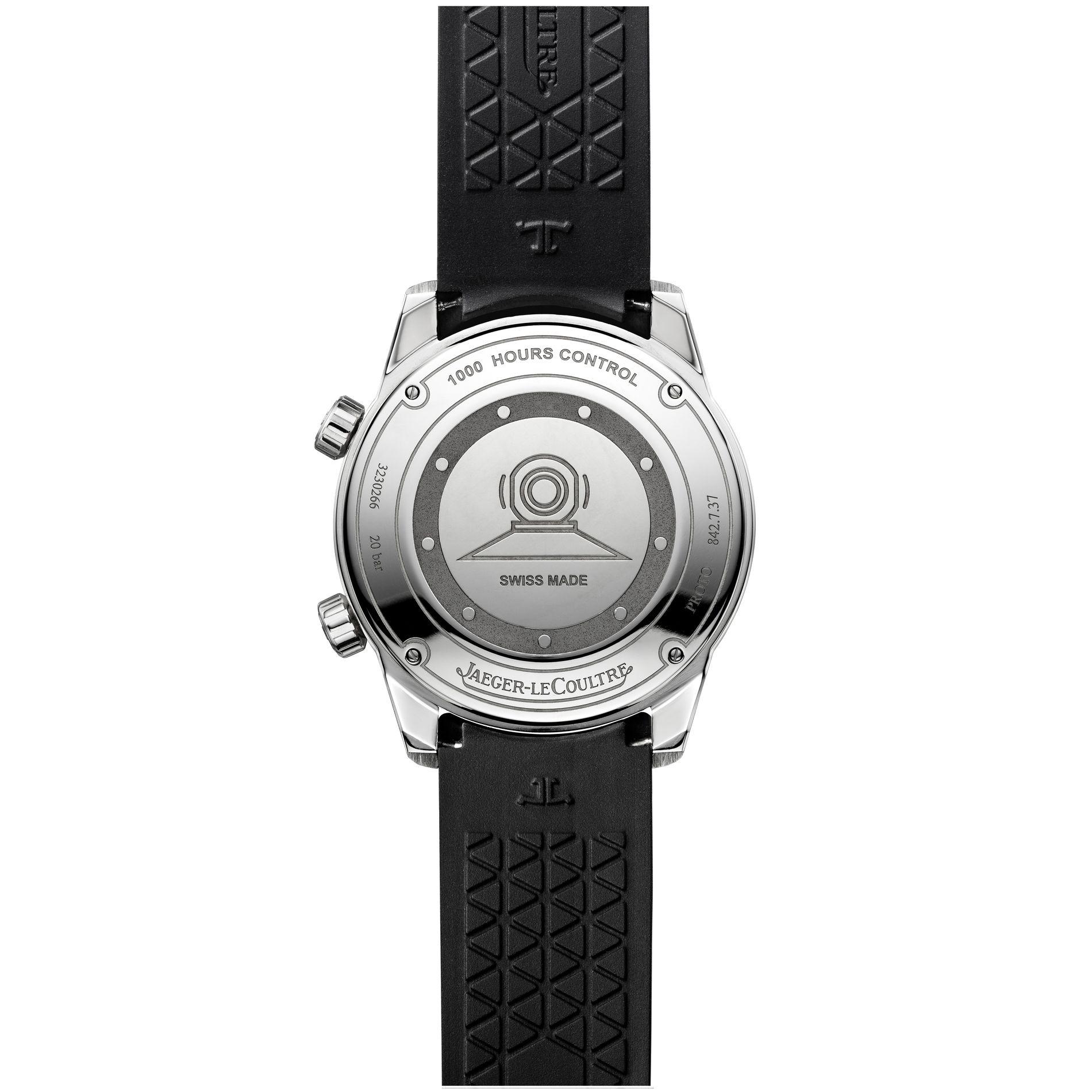 Jaeger-LeCoultre Polaris Date - case back