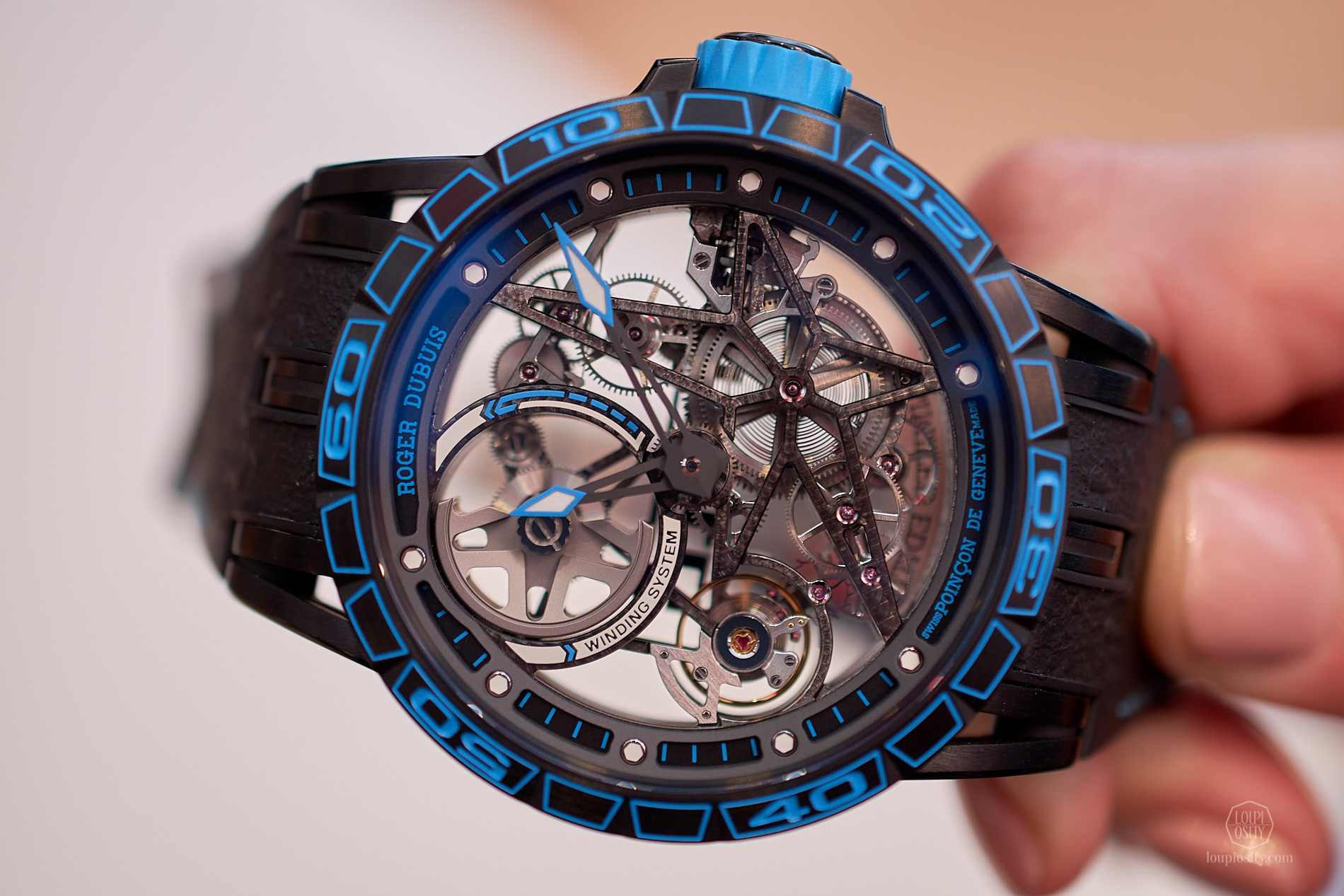 Excalibur Spider Skeleton Automatic Pirelli