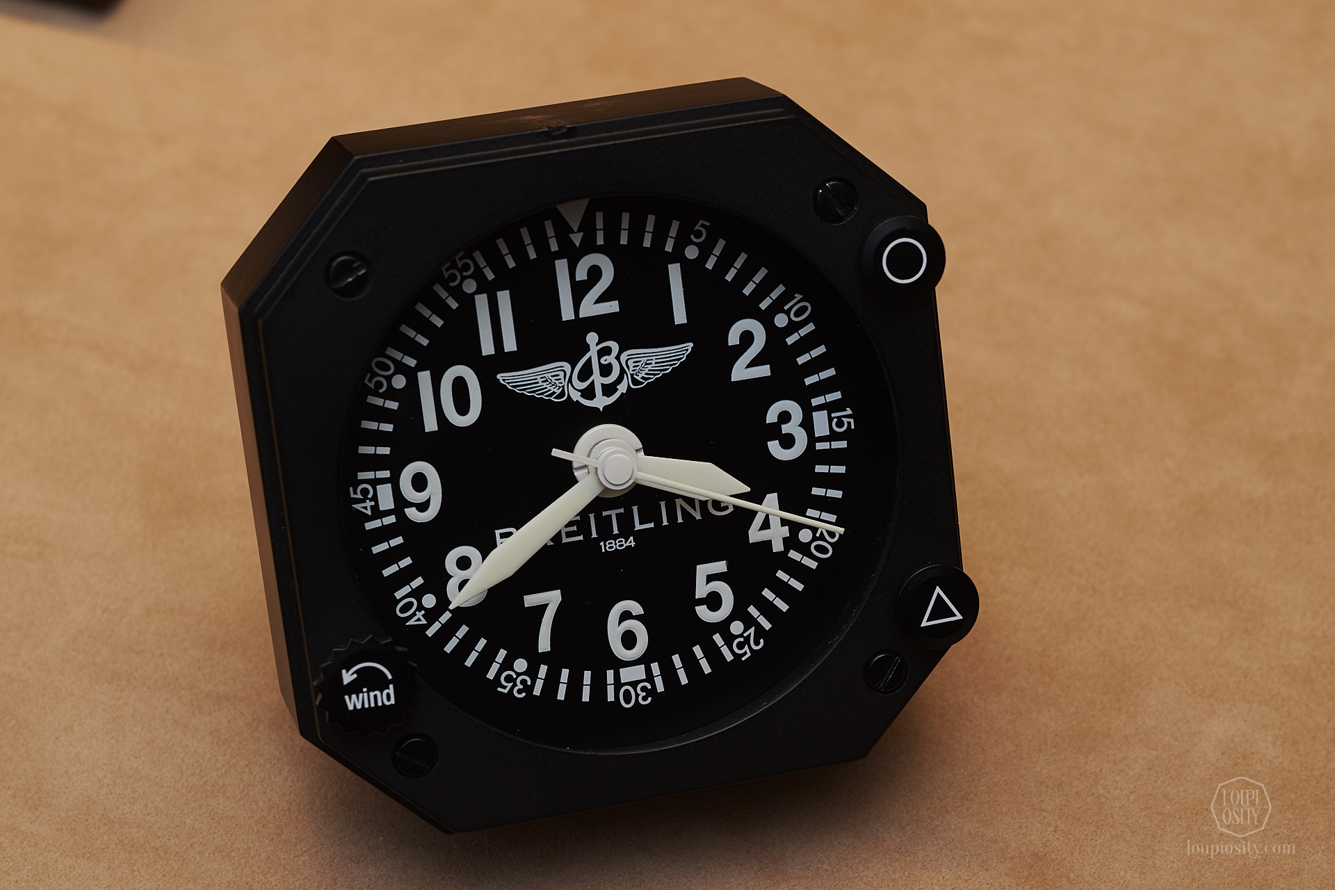 Breitling table clock