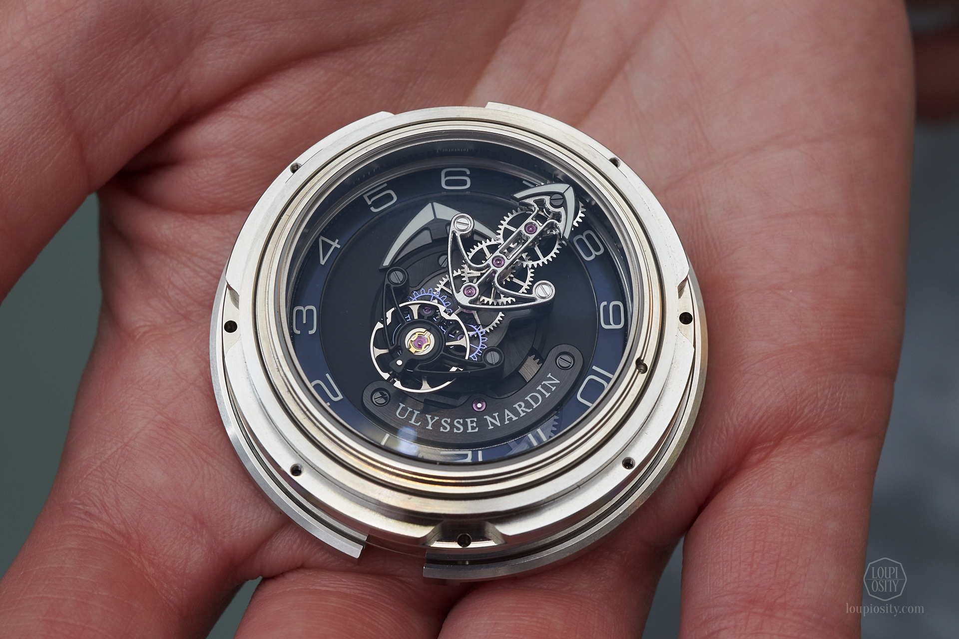 Ulysse Nardin Freak assembled