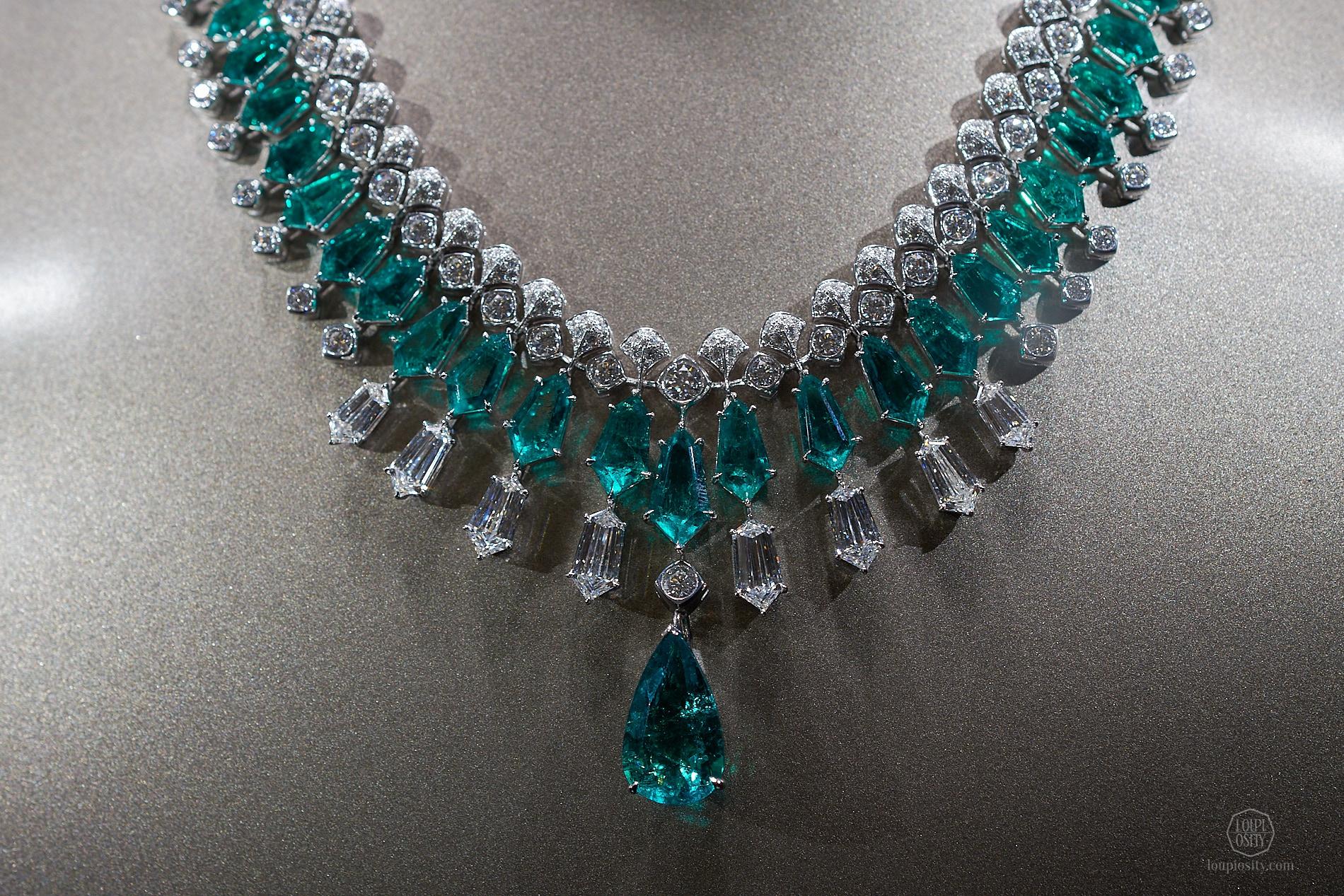 Green Borealis Necklace