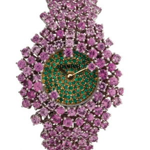 damiani-mimosa-watch-with-pink-sapphires-and-emeralds-300211181