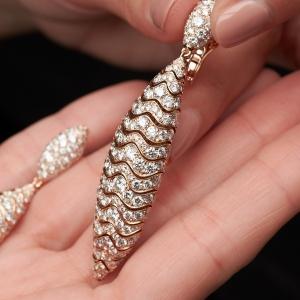 Millefoglie earrings