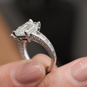 Toi & Moi High Jewellery diamond ring