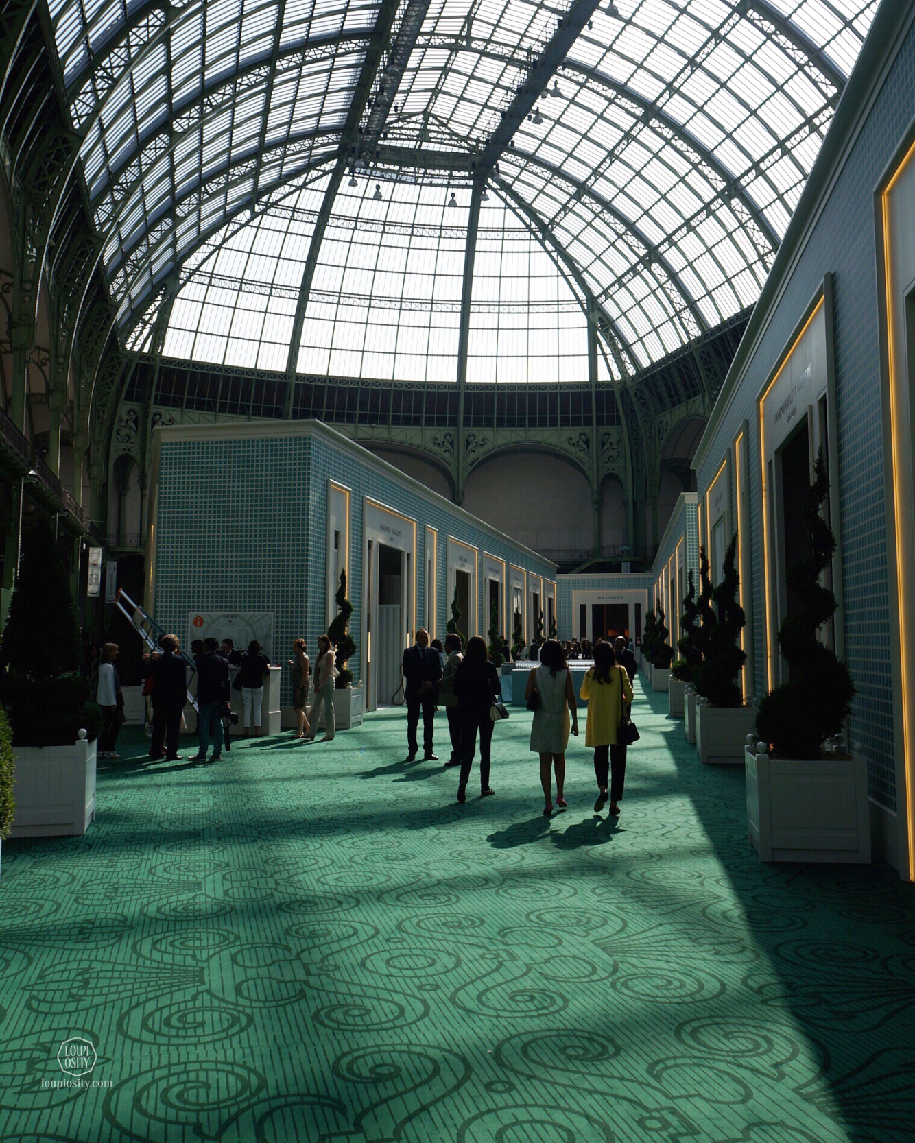 Construction of the Grand Palais began in 1897 following the demolition of the Palais de l'Industrie (Palace of Industry) as part of the preparation works for the Universal Exposition of 1900
