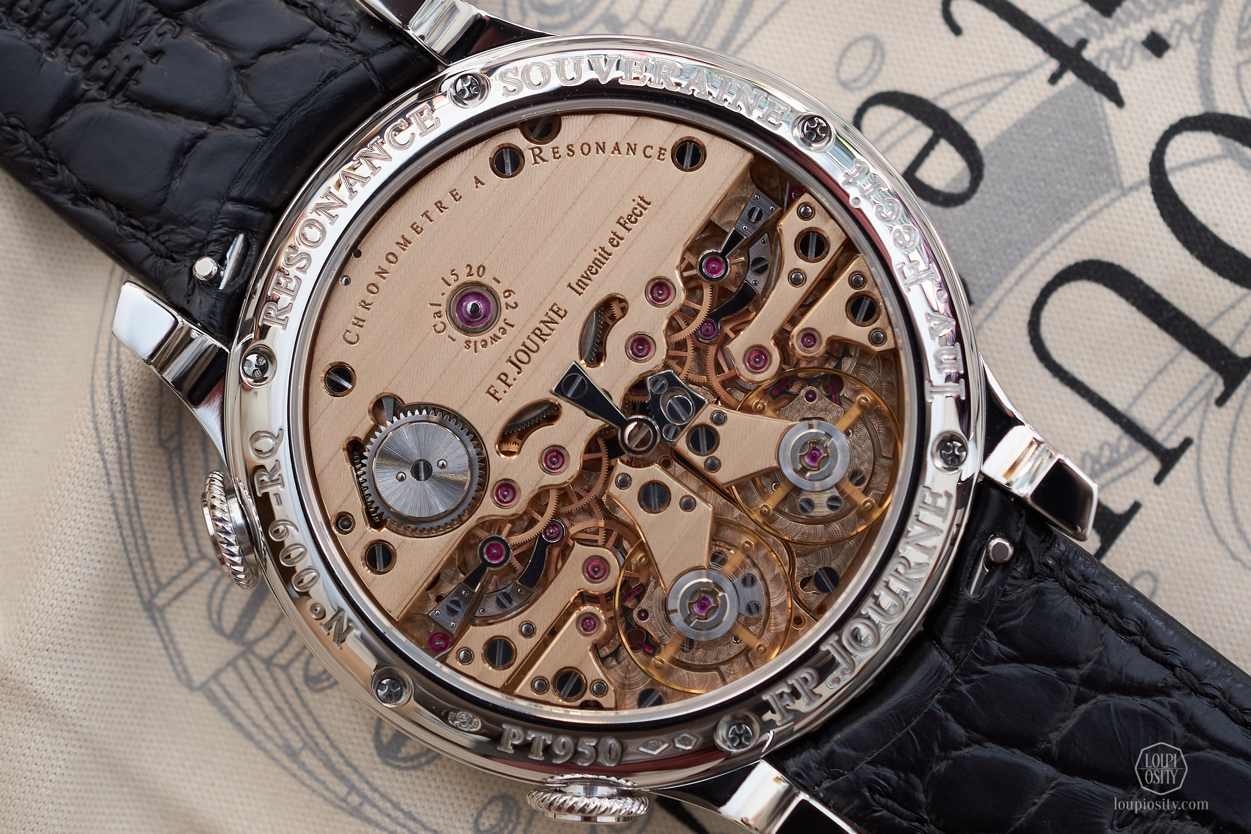 F. P.  Journe Chronomètre à Résonance