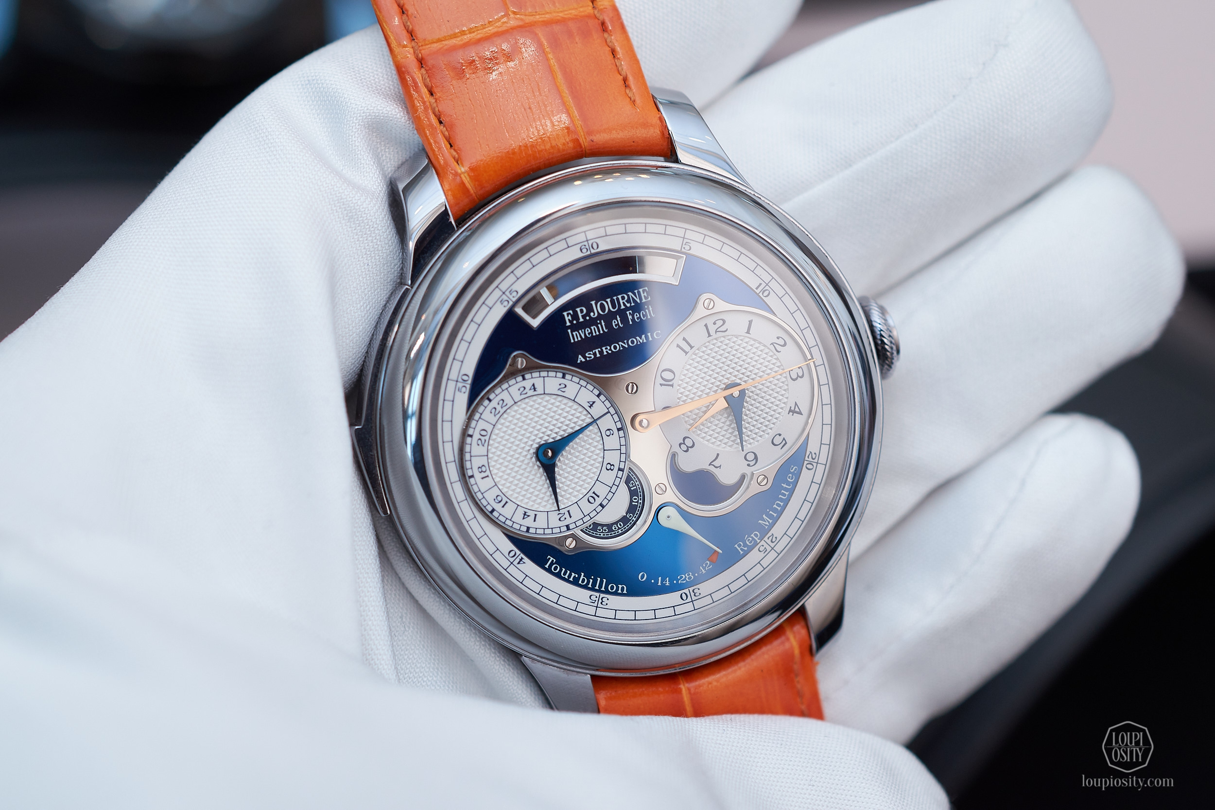 F.P. Journe Astronomic Blue