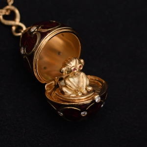 Red Monkey Locket