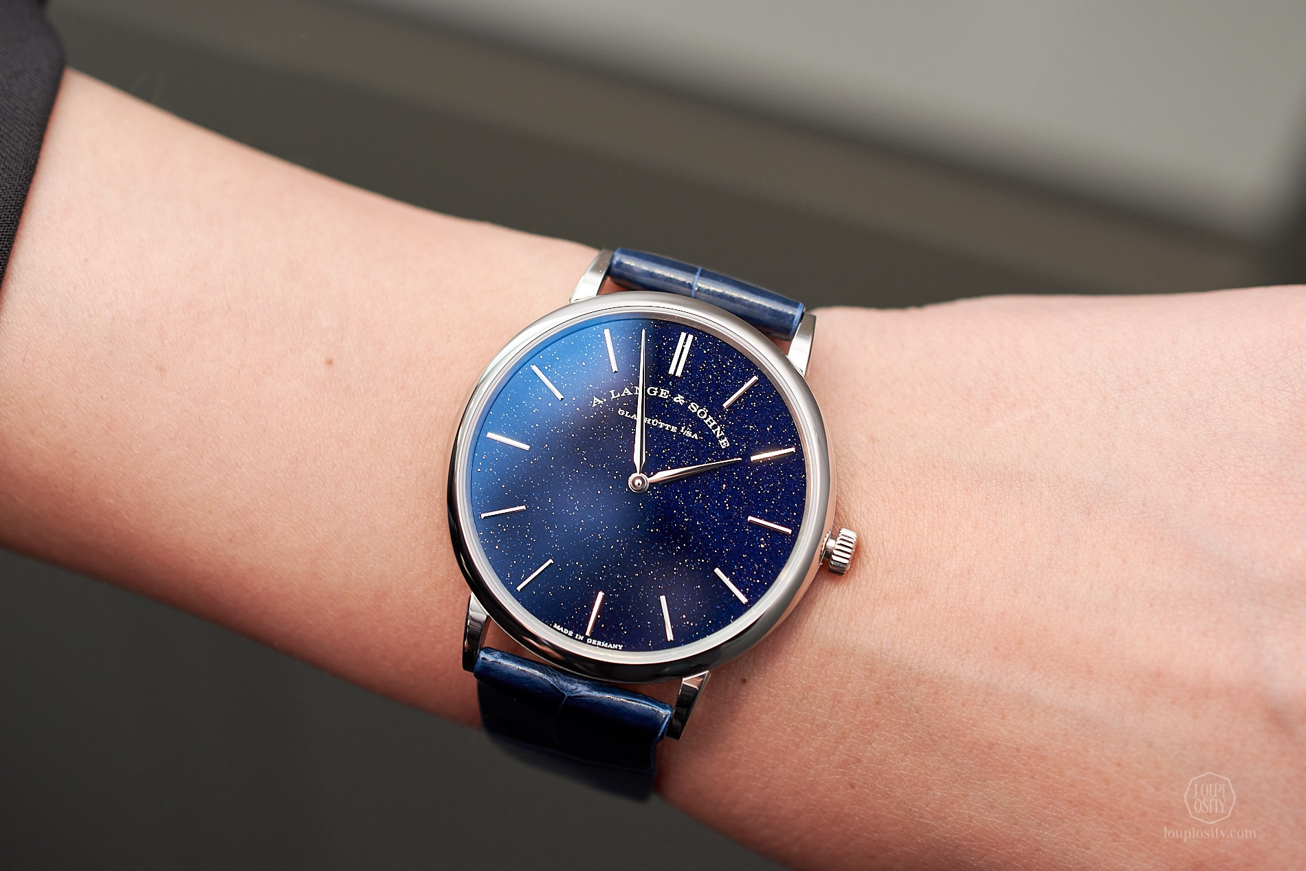 A. Lange & Söhne - Saxonia Thin in Copper Blue
