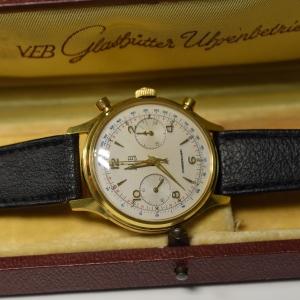 Glashütte Chronograph GUB Cal 64