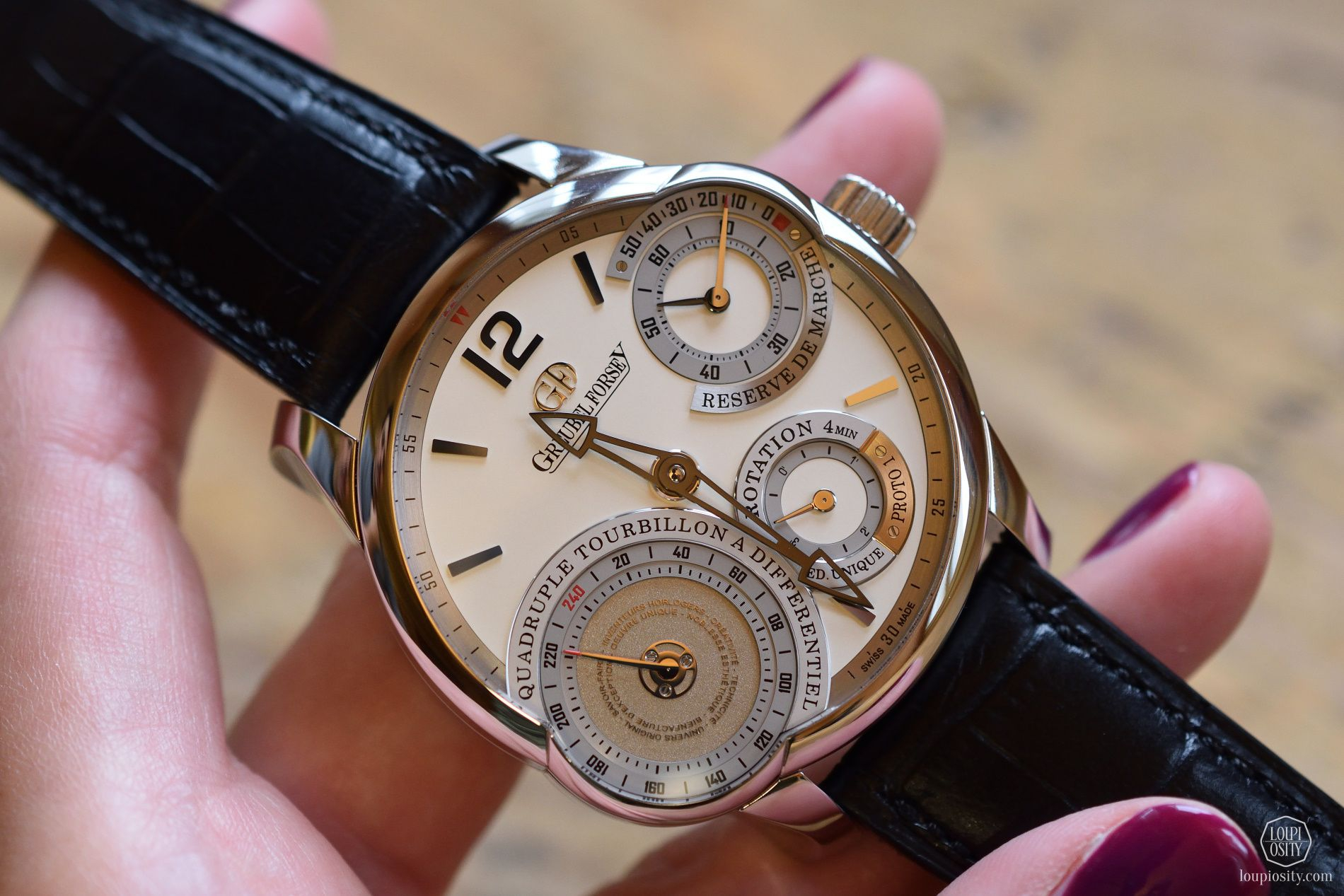 Greubel Forsey Quadruple Tourbillon Secret