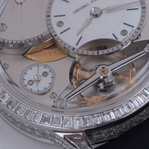 Greubel Forsey Diamond Set Balancier Contemporain