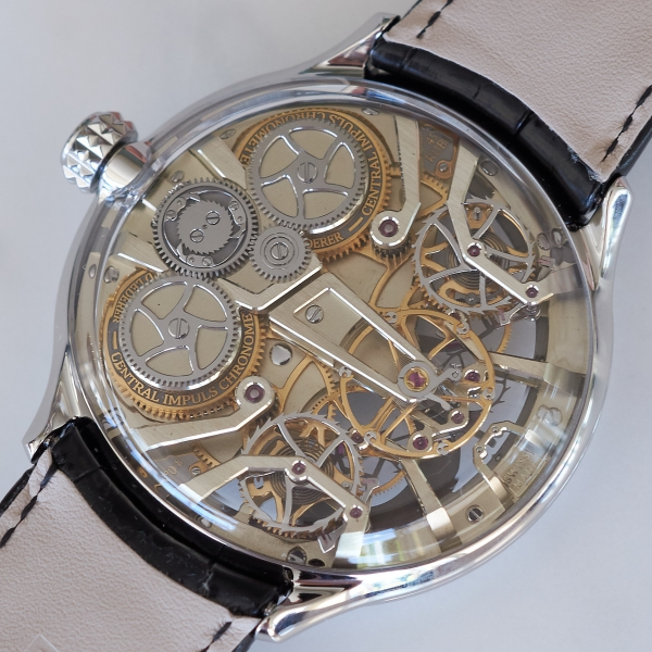 Bernhard Lederer Central Impulse Chronometer