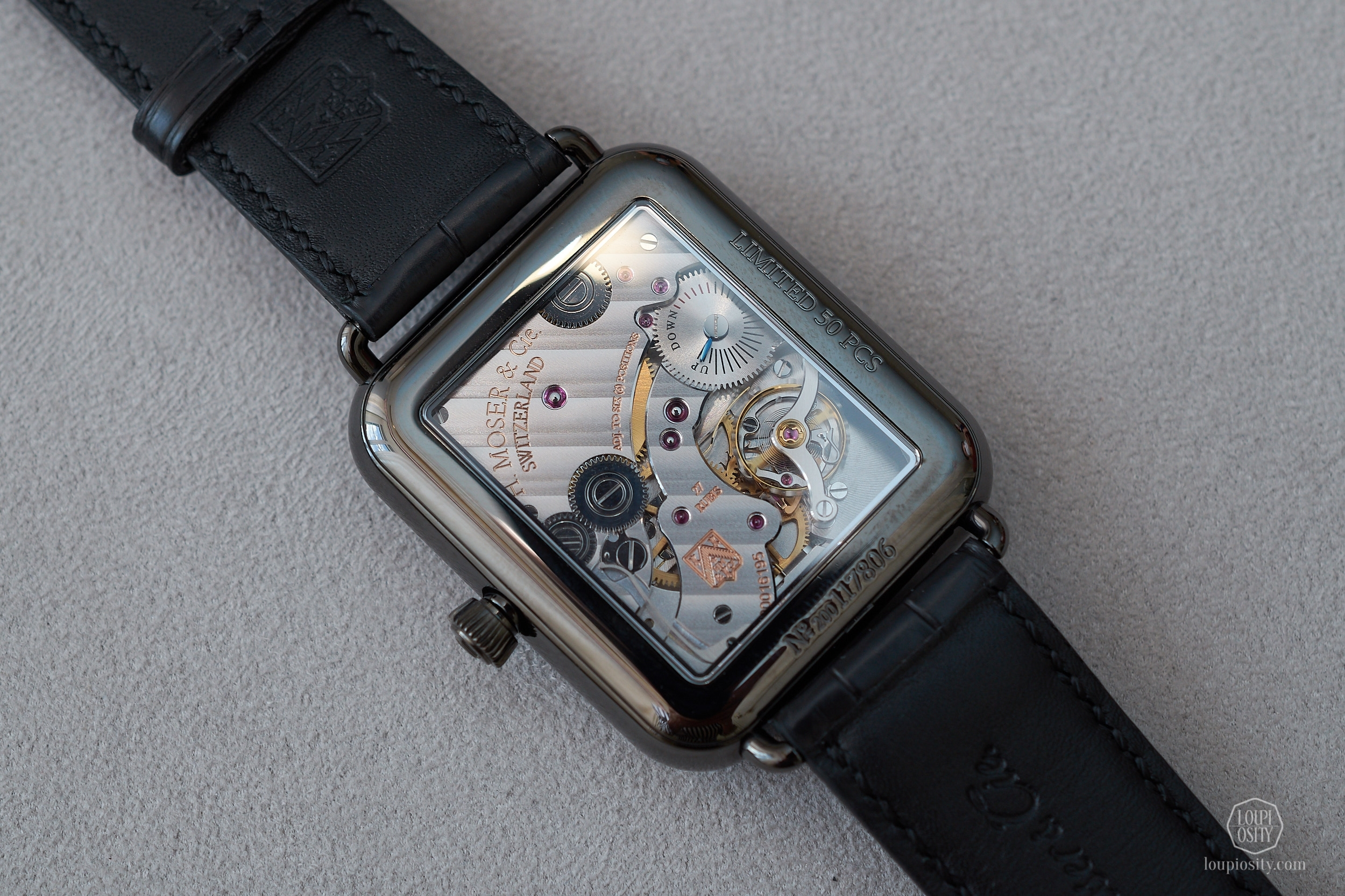 H. Moser & Cie Swiss Alp Watch Final Upgrade, movement side