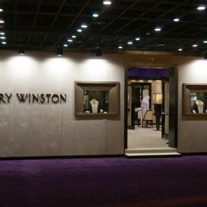Harry Winston booth