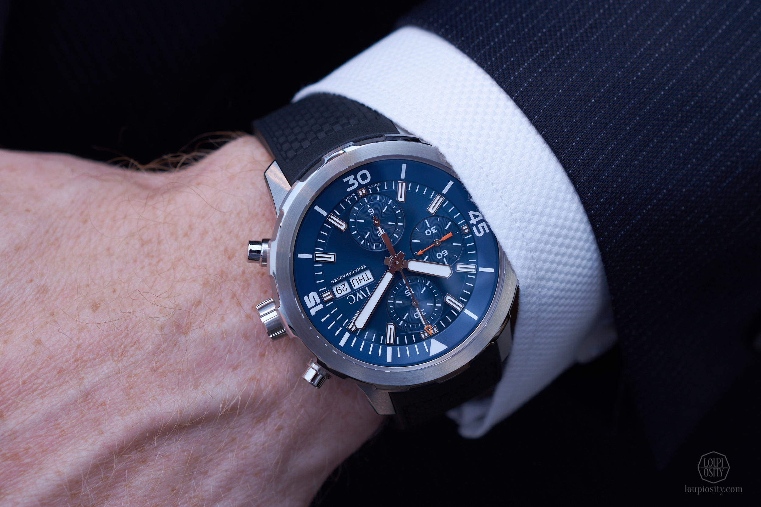 IWC Schaffhausen Aquatimer Chronograph Edition Jacques-Yves Cousteau, in Vienna