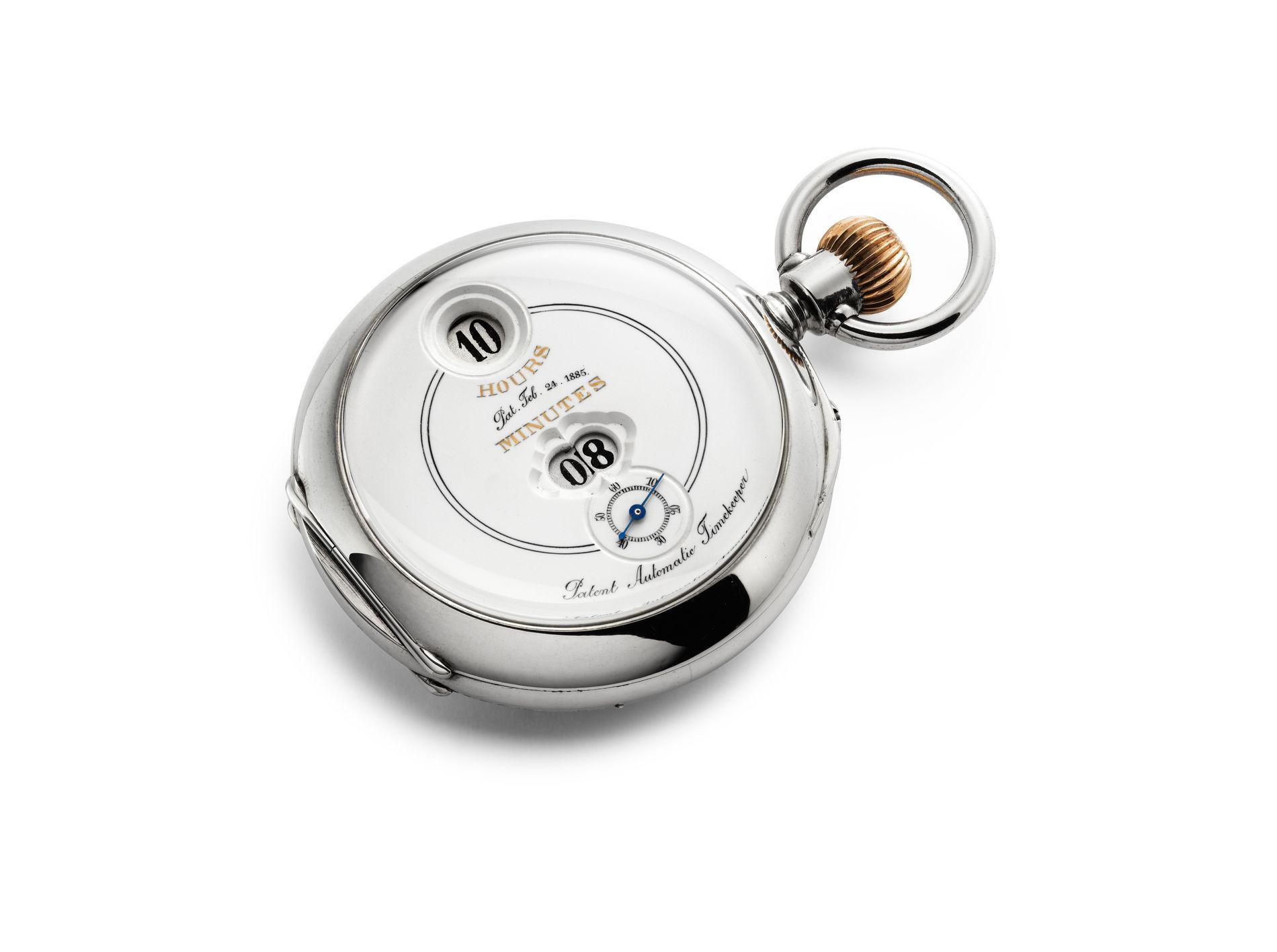 IWC Savonnette Pocket Watch Pallweber
