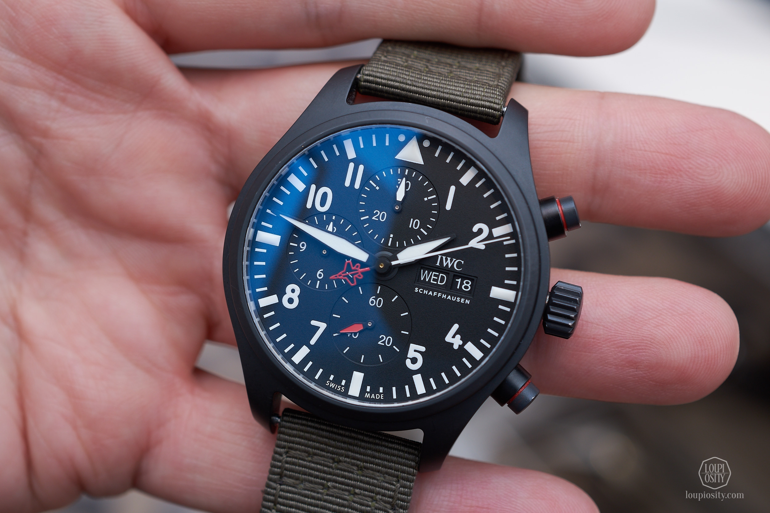 "Pilot's Watch Chronograph TOP GUN Edition ""SFTI"""