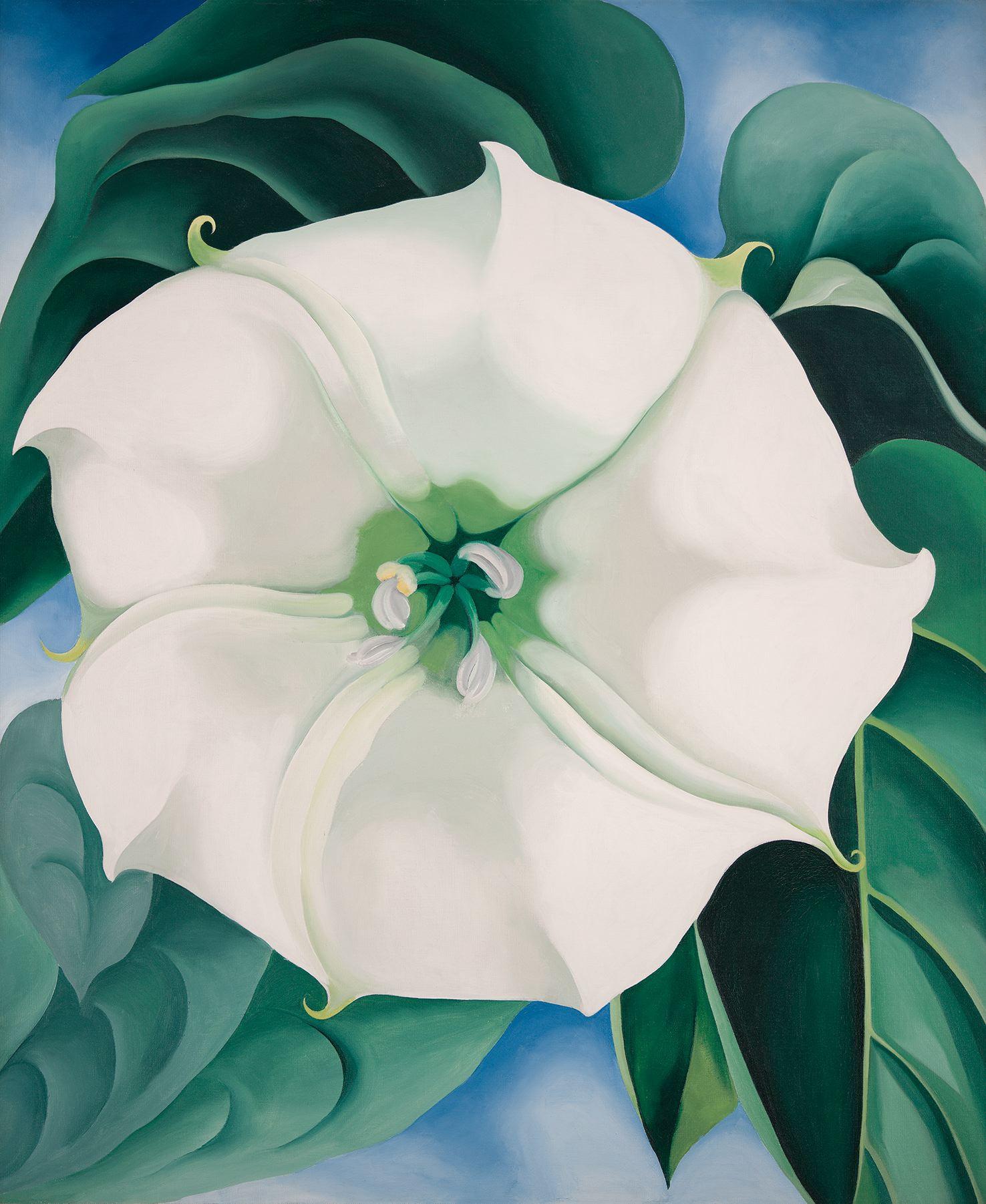 Georgia O'Keeffe Jimson Weed/White Flower No. 1, 1932