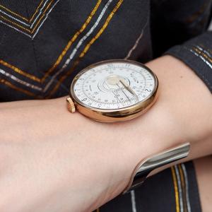 KLOK-08 with silver bangle