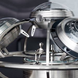 Ross on the observation ring - MB&F and L'Epée - The Fifth Element