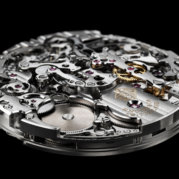 H. Moser & Cie Streamliner's HMC 902 movement based on AGENHOR's AgenGraphe