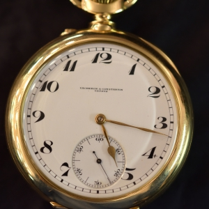 """Observatory trial"" pocket watch"