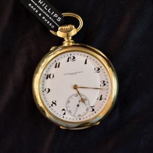 """Observatory trial\"" pocket watch"