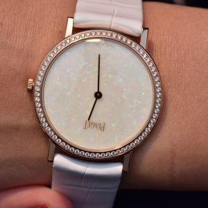 Altiplano with white opal dial