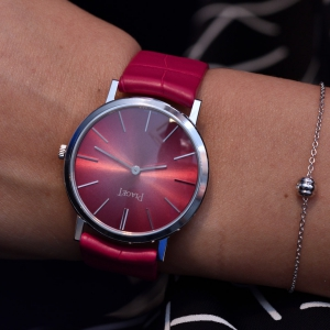 Altiplano anniversary edition with pink dial