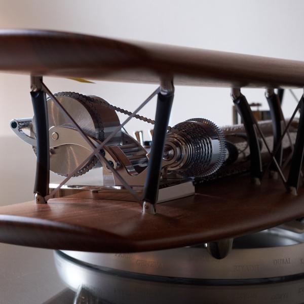 Reuge Biplane Wood