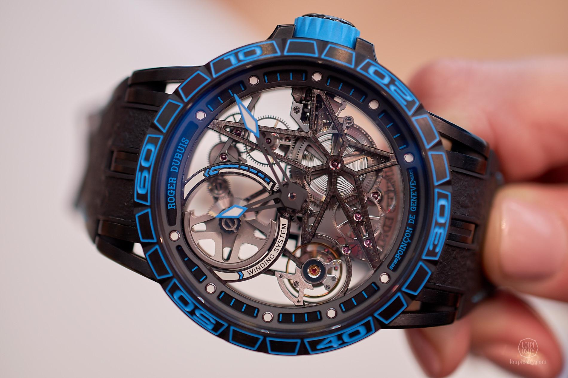 Excalibur Spider Skeleton Automatic Pirelli