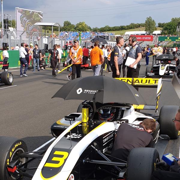 Christian Lundgaard (Art Grand Prix) in Formula 3