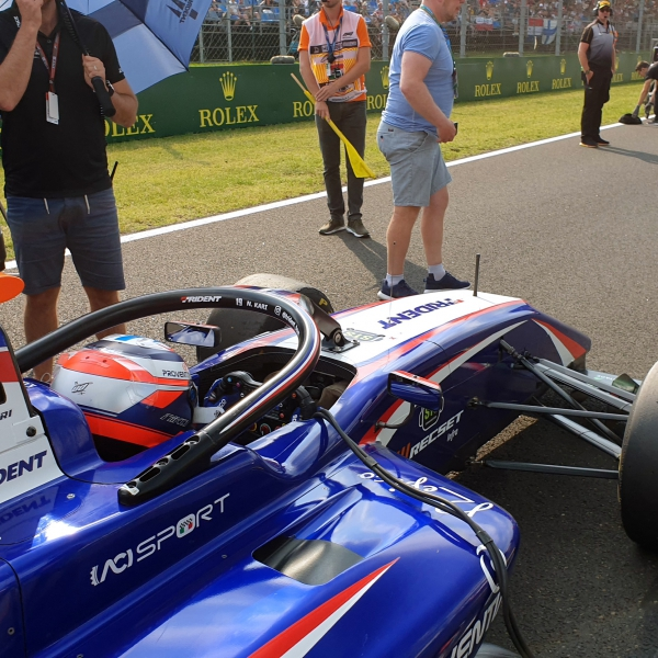 Niko Kari (Trident) in Formula 3