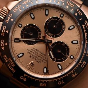 Rolex Cosmography Daytona, Everose gold